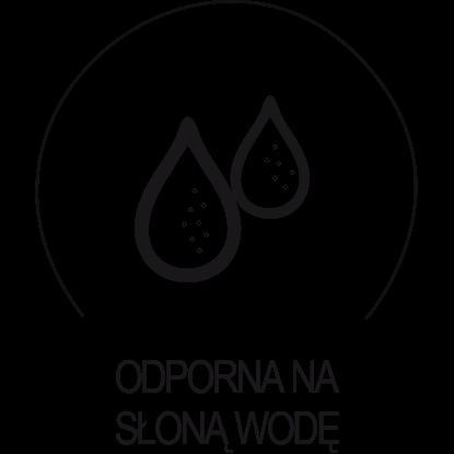 Tkanina obiciowa odporna na słoną wodę. Doskonała do zastosowań marynistycznych, idealna do zastosowania w środowisku z permanentną obecnością wody.