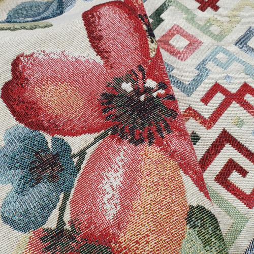 Kolekcja tkanin Parin - wzór kwiatowy żakardowy