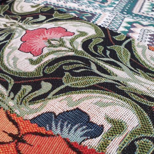 Tkanina dekoracyjna Parin - kompozycja wzorów dekoracyjnych